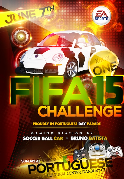 Soccer Ball Car - Portuguese Day 2015 Danbury