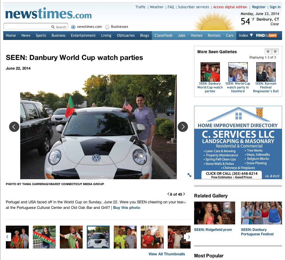 Soccer Ball Car - Danbury NewsTimes