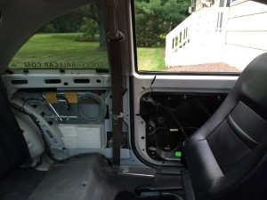 Before - VW Interior Gutted (VW Beetle)