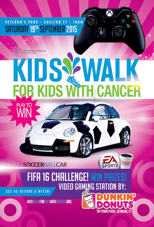 Kids Walk for Kids with Cancer Flyer